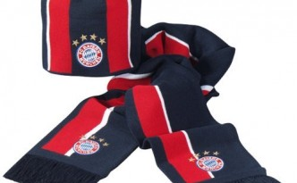FC Bayern Kids Set Mütze + Schal